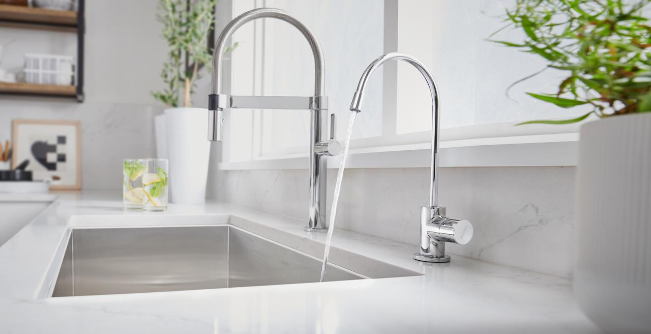 SOLA - Cold water beverage faucet.