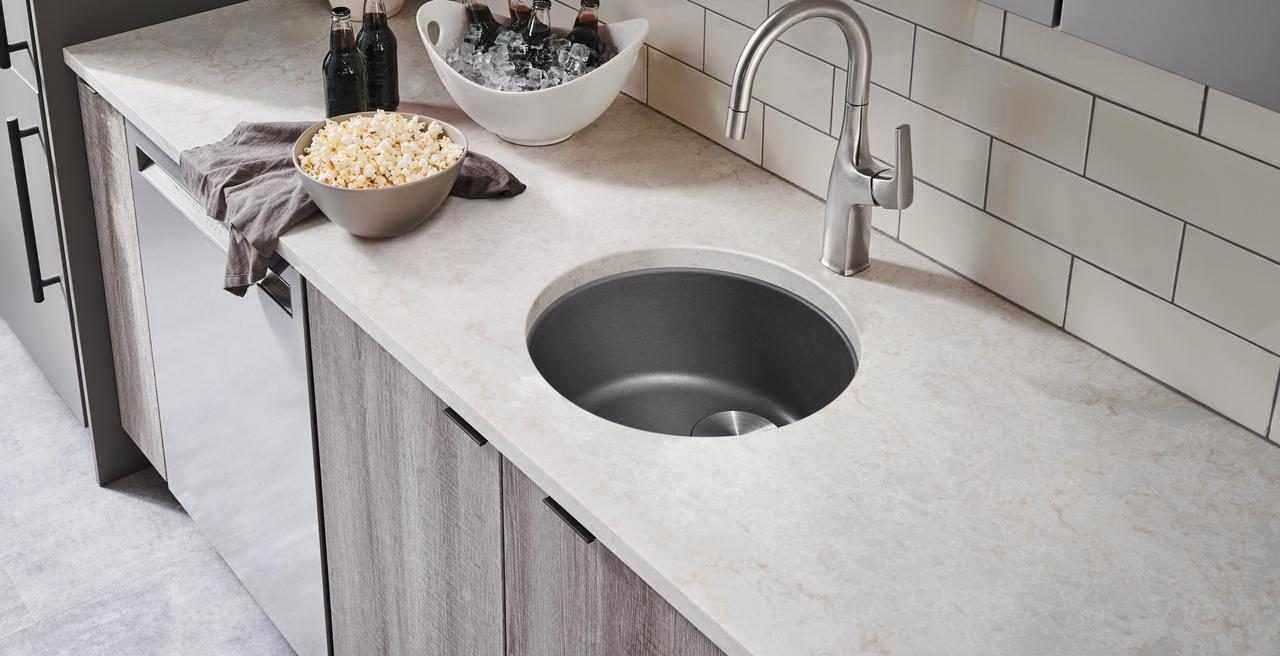 RONDO - Round Bar and Prep Sinks
