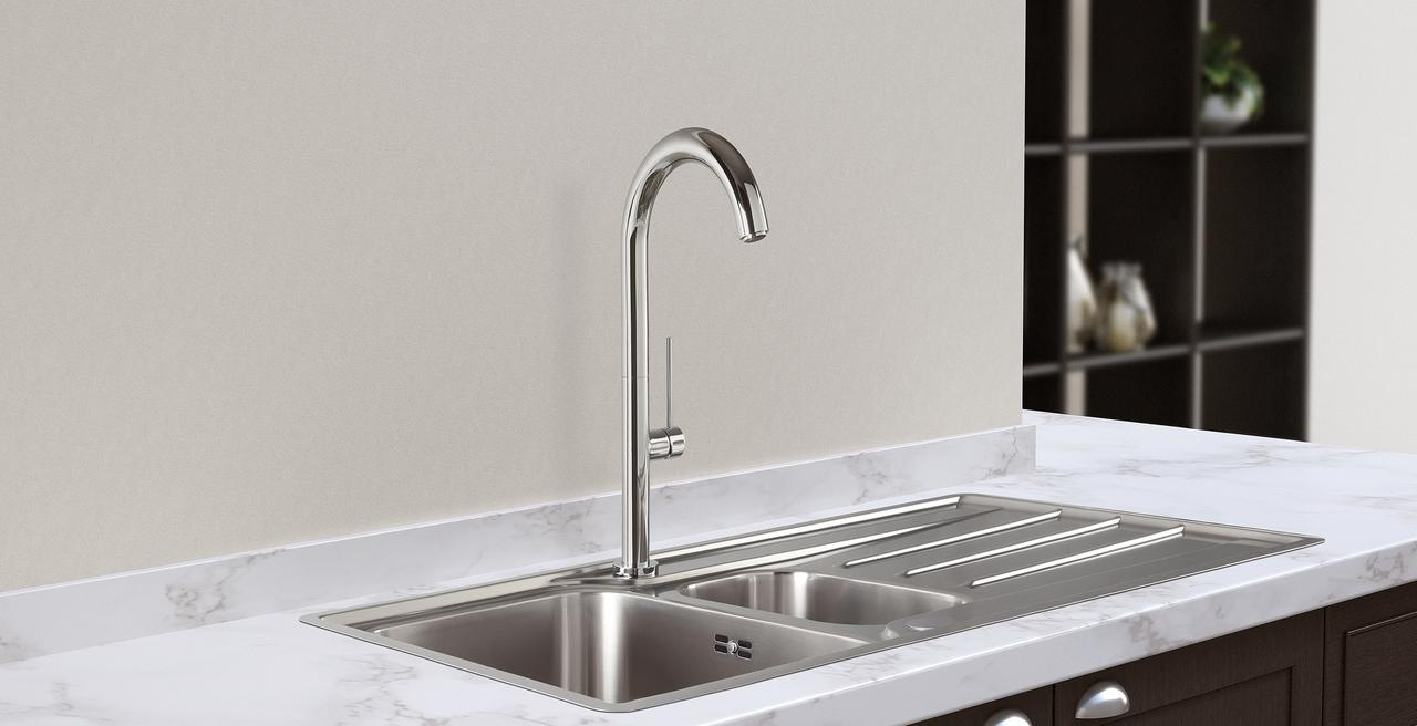 TRIM - Elegant tap with stylish cylindrical body