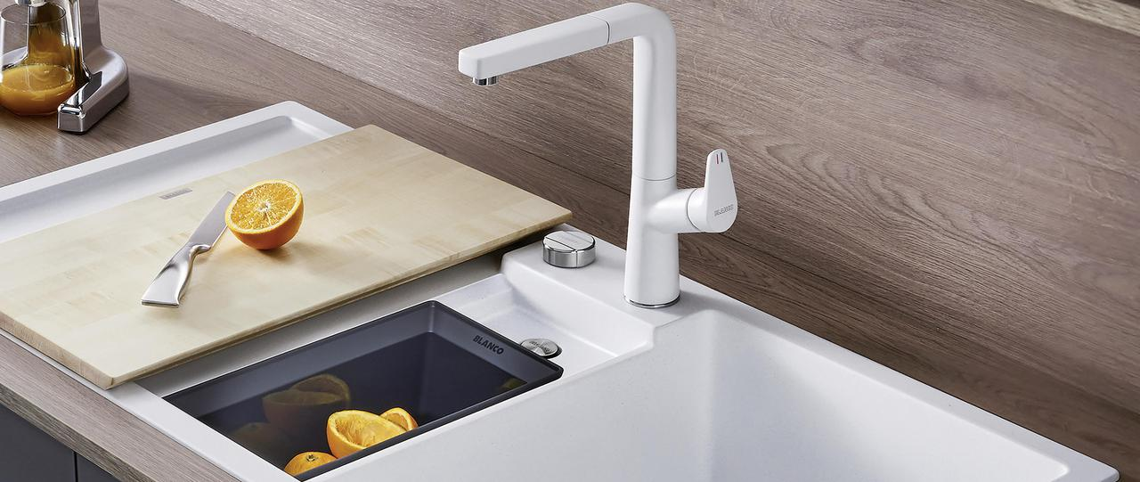 COLLECTIS - Practical, functional sink with system