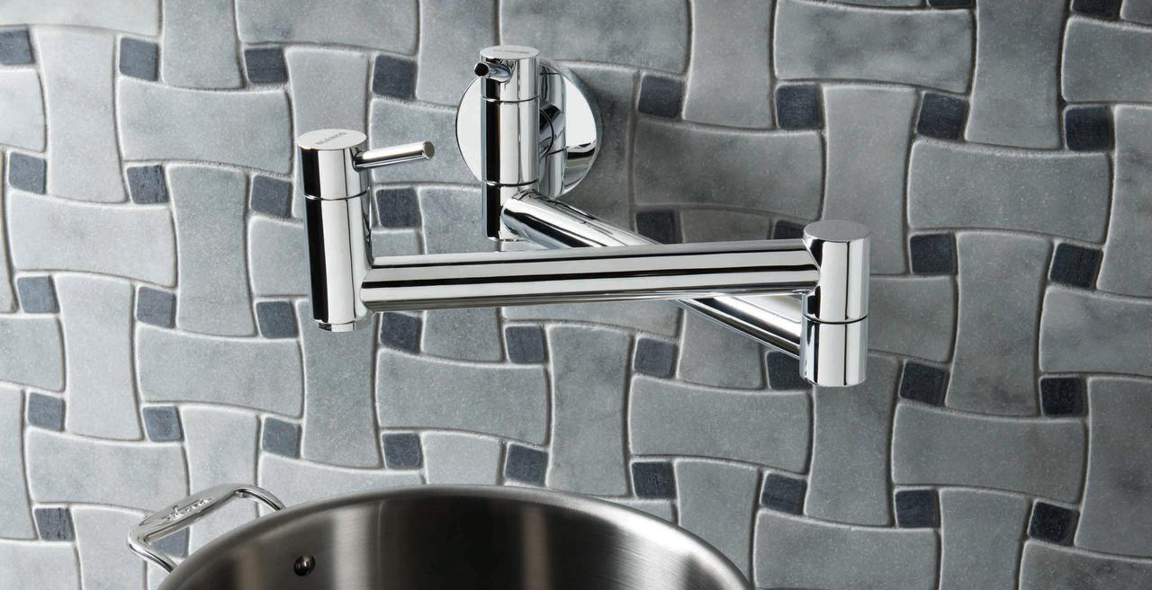 CANTATA - Articulating pot filler.