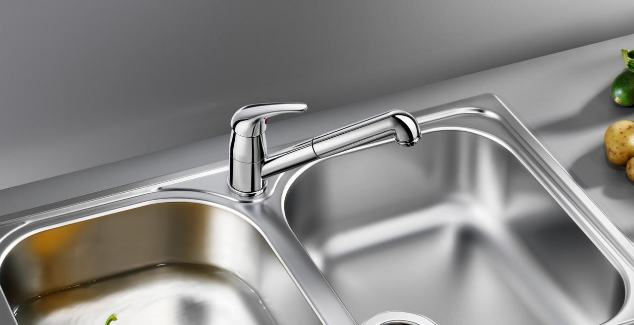 DARAS - The timelessly classic kitchen mixer tap