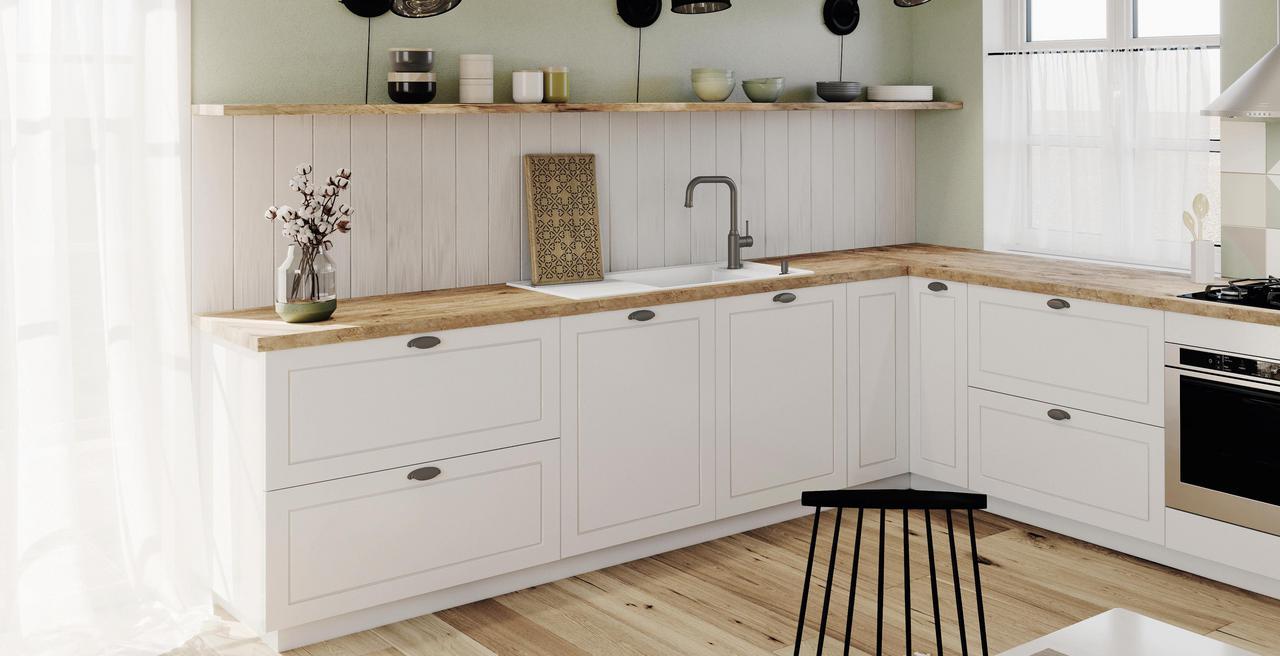 FARON - Se marie magnifiquement avec les designs de cuisine cottage