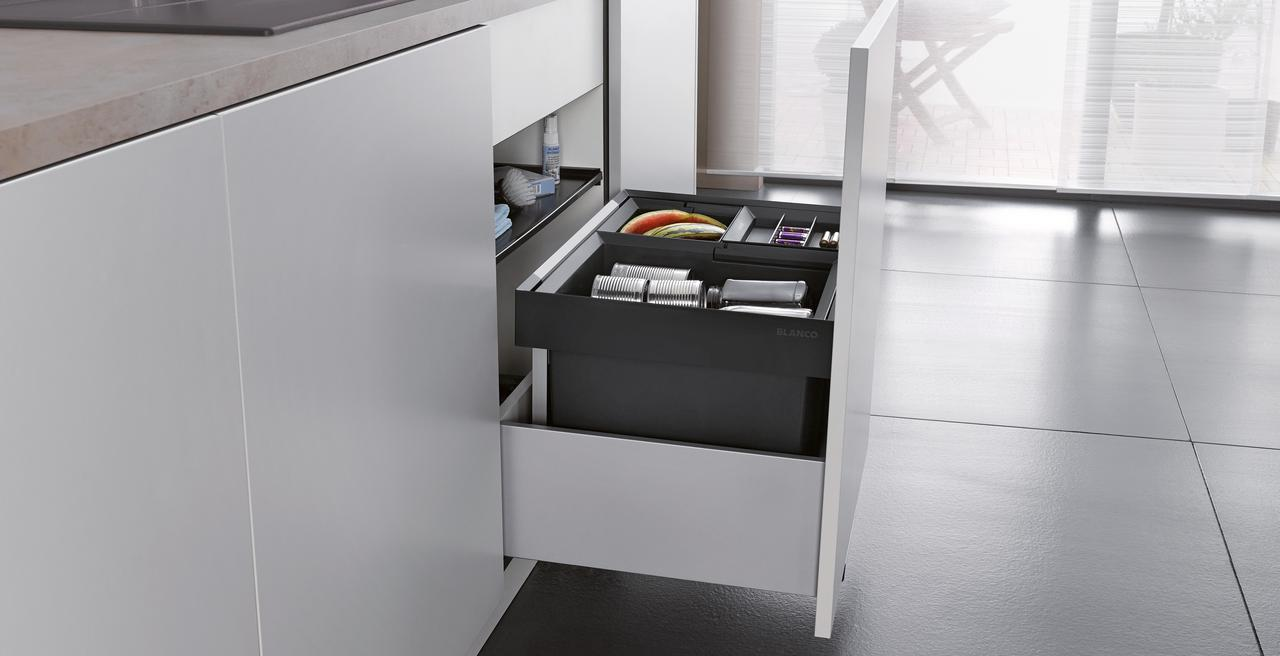 FLEXON_II_wastesystem - the perfect waste collector for all common pull-out cabinets