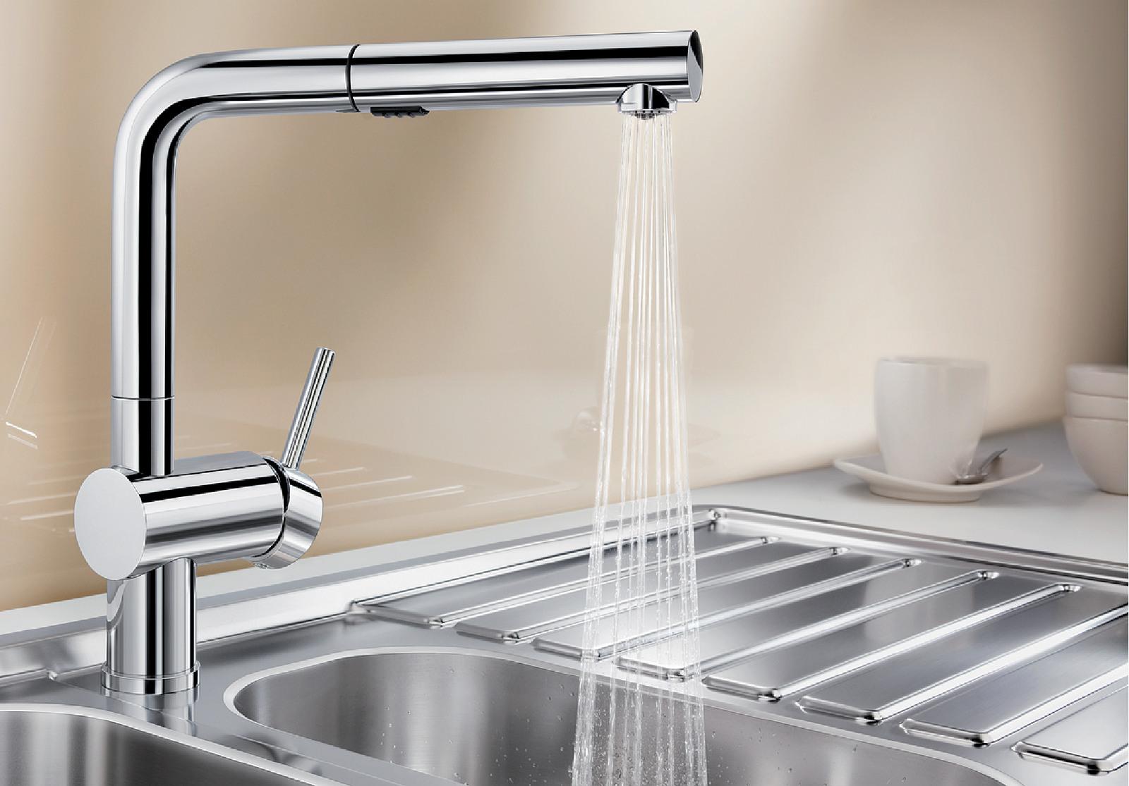 BLANCO Linus de s Vario Robinet de cuisine chrome haute pression surface m/étalliques 516689