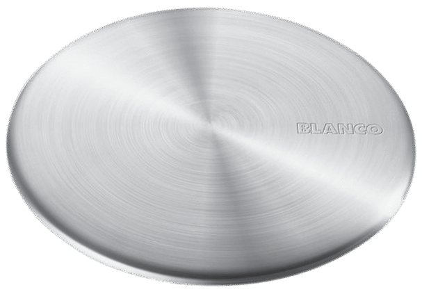 "3½"" CapFlow strainer cover Stainless steel (fits all strainers)"