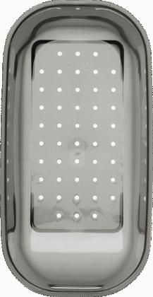Vide-sauce gris transparent plastique