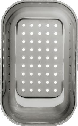 Kunststoffschale in trans. grau