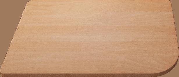 Schneidbrett aus massiver Buche 433 x 250 mm