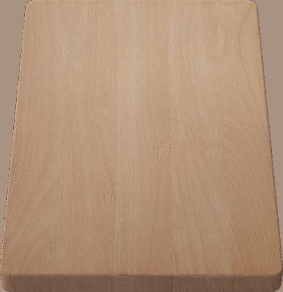 Schneidbrett aus massiver Buche 370 x 250 mm