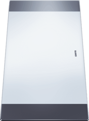 Schneidbrett aus Sicherheitsglas 420 x 200 mm