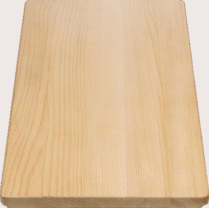 Schneidbrett aus massiver Buche 465 x 260 mm