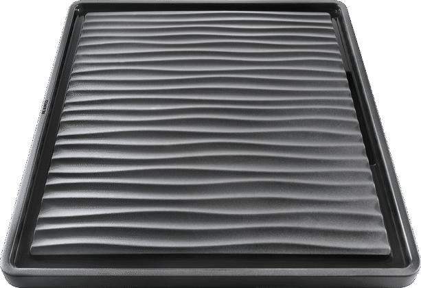 Tropf aus wertigem Kunststoff in schwarz-grau