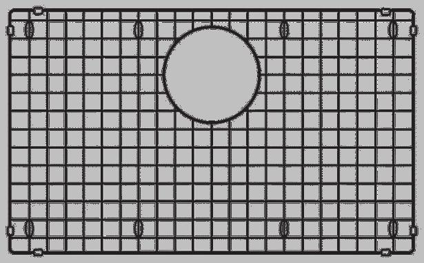 Grille d'évier