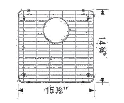 Grille d'évieR FORMERA U 1 3/4 (GC)