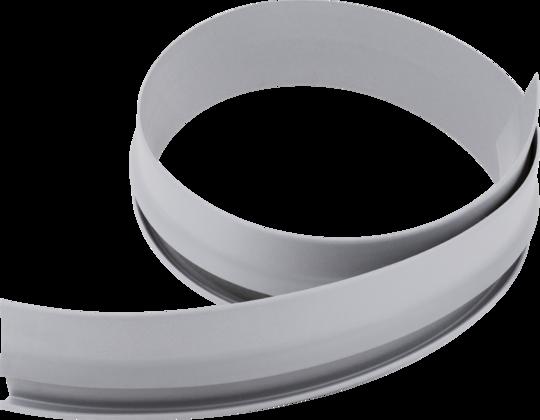 密封条,灰色塑料材质,用于边和墙连,接,边缘高度30毫米,长度根,据客户需要