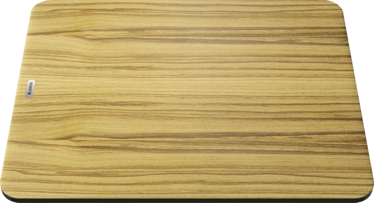 BLANCOZENAR XL 6 S SILGRANIT PuraDur mit Holz-Schneidbrett InFino mit Ablauffernbedienung