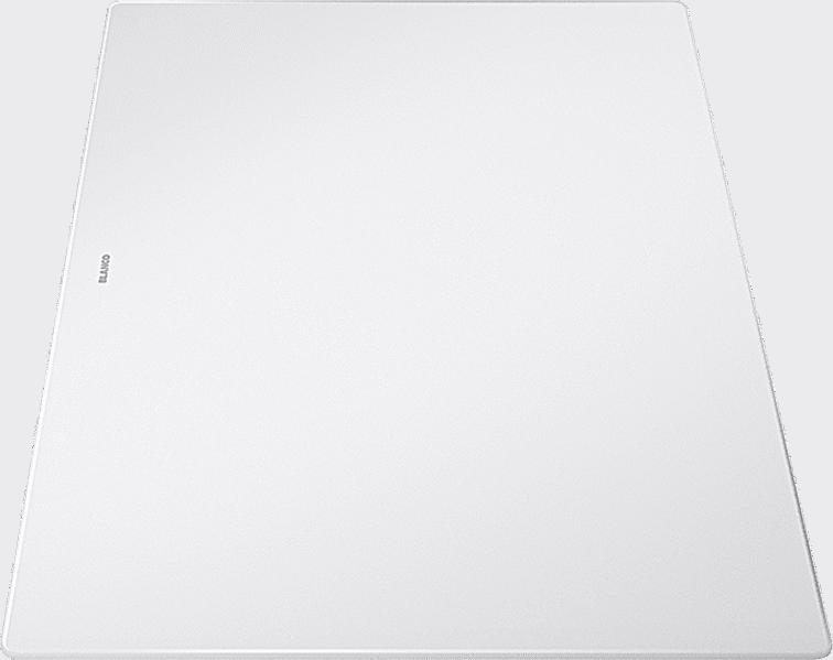BLANCOAXIA III 6 S SILGRANIT PuraDur mit Glas-Schneidbrett InFino mit Ablauffernbedienung
