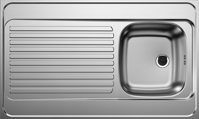 Reversible Lay-on sink R-ES 10 x 6