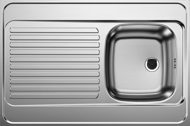 Reversible Lay-on sink R-ES 9 x 6
