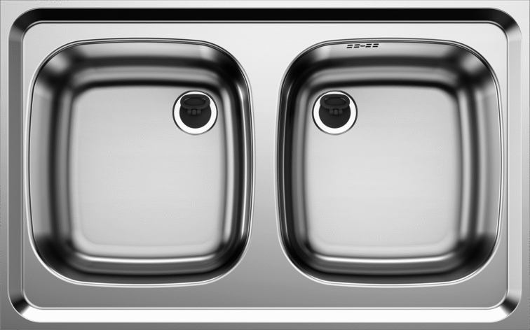 Lay-on sink Z 8 x 5
