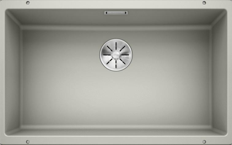 Fregadero 700 x 400 mm, 73 cm, 46 cm, 19 cm BLANCO SUBLINE 700-U