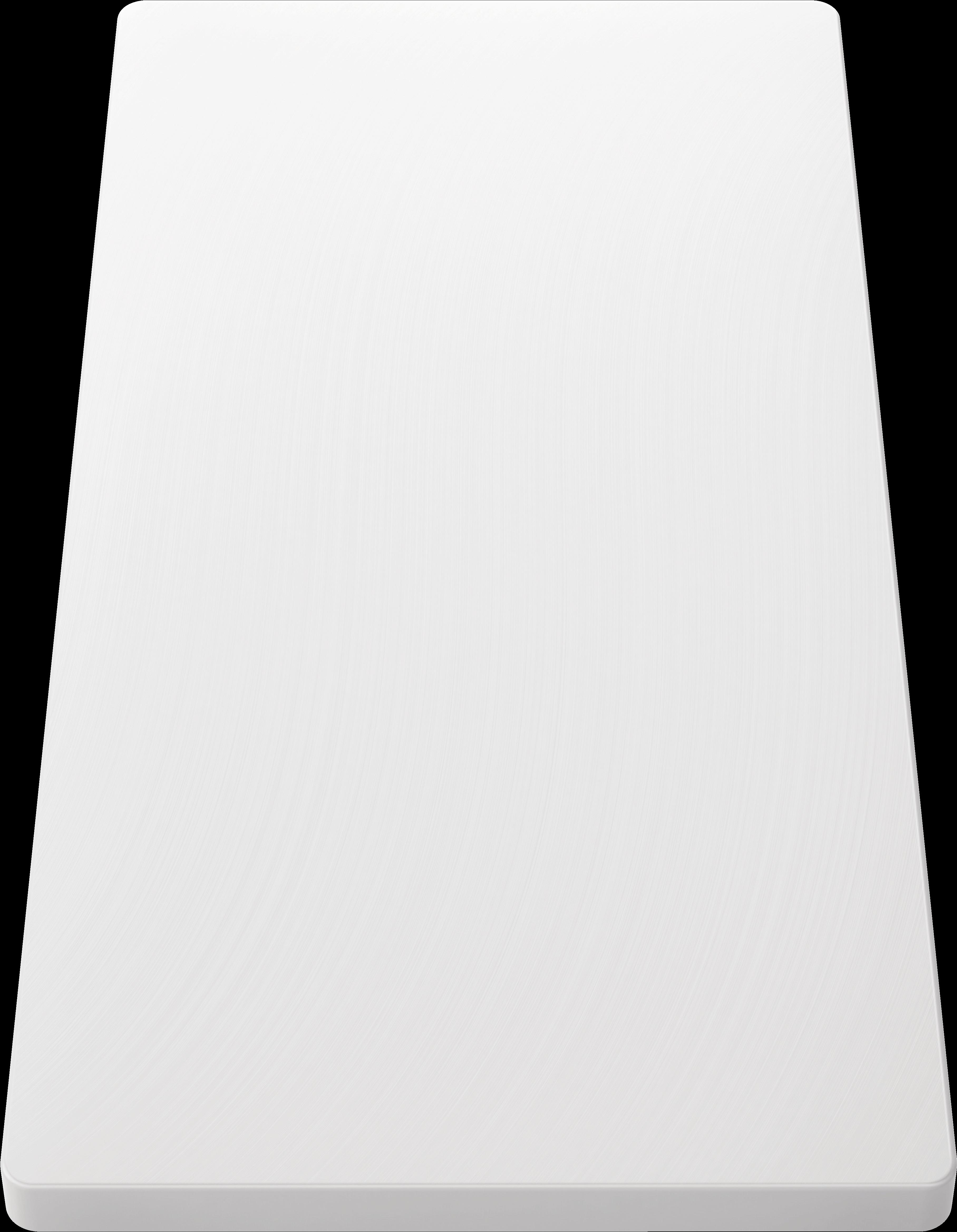 Schneidbrett aus wertigem Kunststoff in weiß