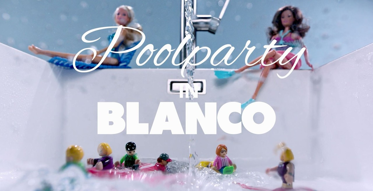 Poolparty in BLANCO