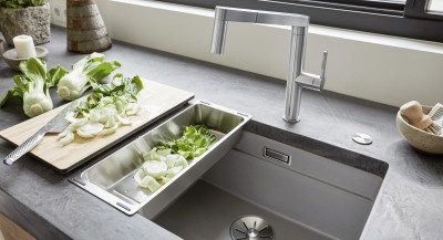 Kitchen sinks and bowls from BLANCO