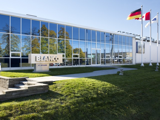 Blanco Canada Head Office in Brampton Ontario
