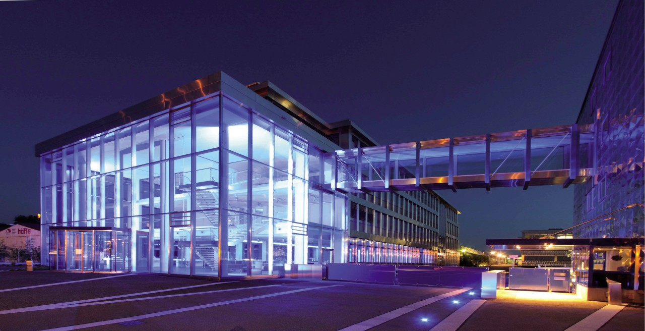 Oberderdingen headquarters - night scene