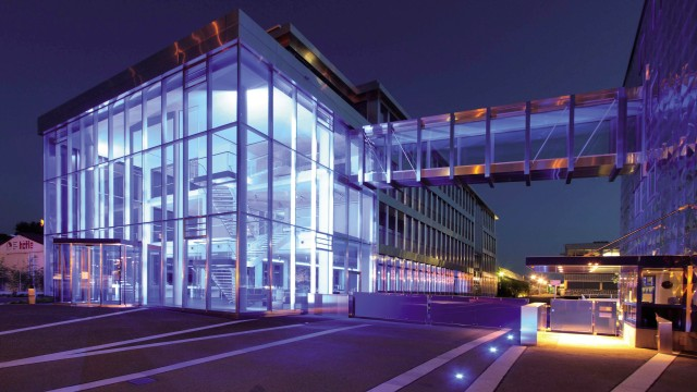 BLANCO headquarters in Oberderdingen by night