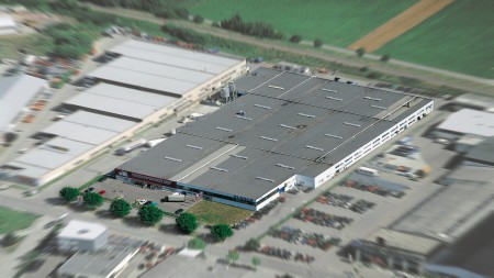 Productiefabriek in Sinsheim
