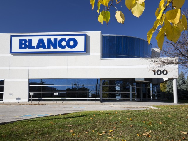 Blanco Canada Head Office in Brampton Ontario