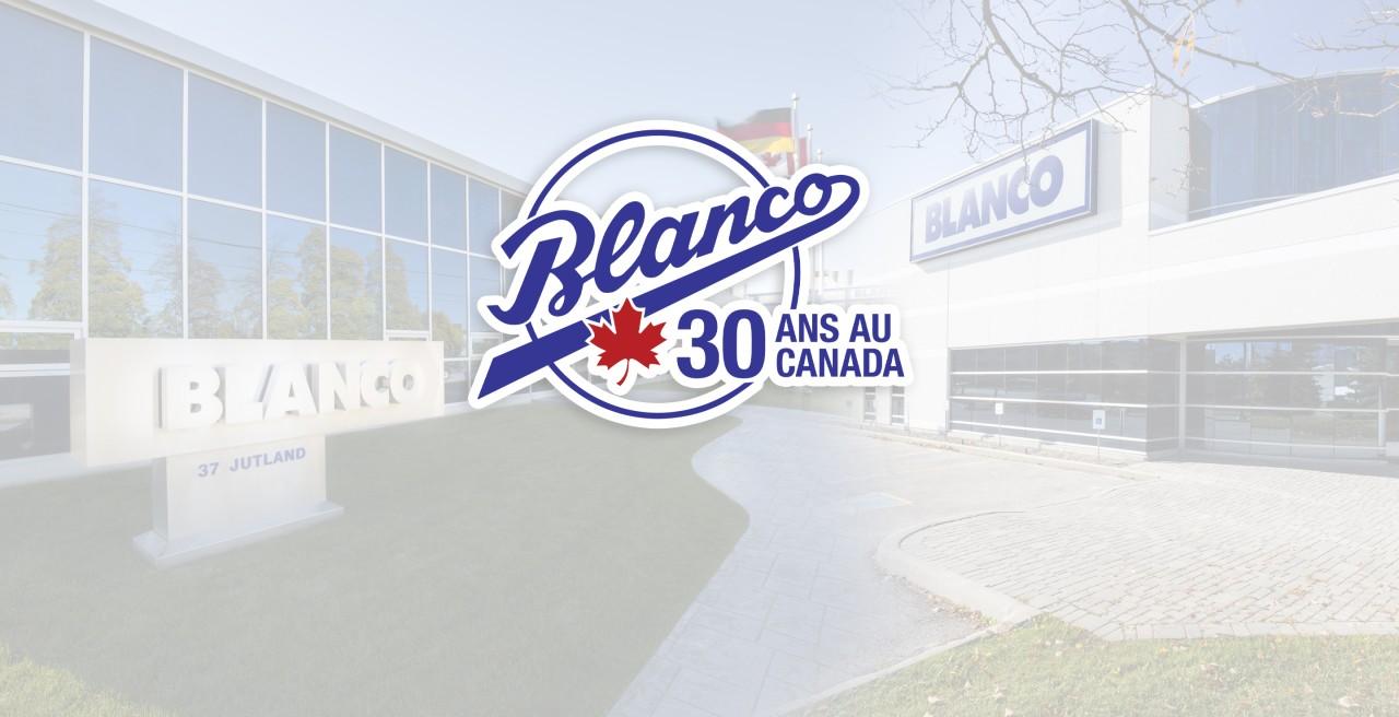 BLANCO CANADA 30 ANS AU CANADA