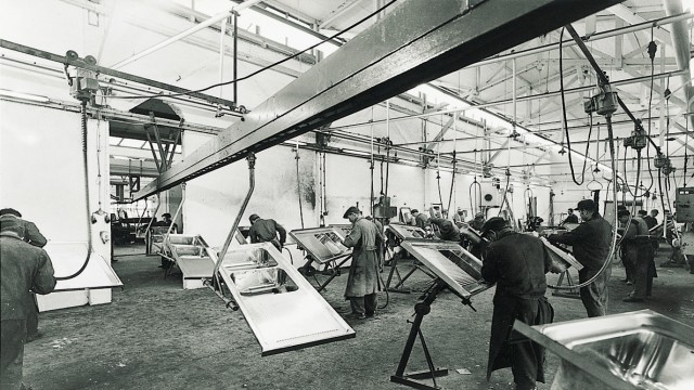 Production hall in Sulzfeld