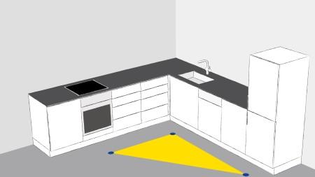 Die richtigen Laufwege in der Küche