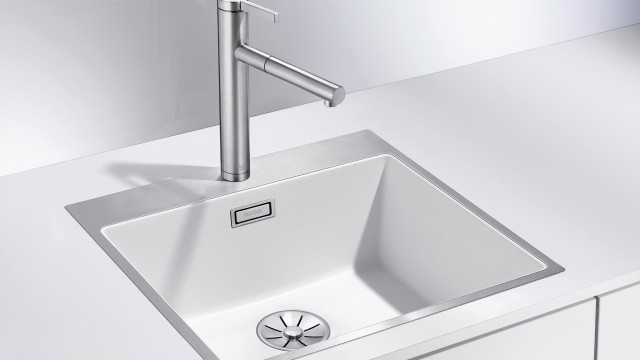 White does not have to be boring, with Steelframe the sink becomes an eye-catcher!
