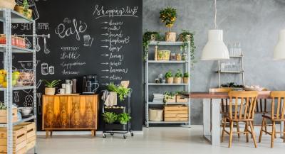 Eine Küche im Slow Living Look - dem achtsamen Umgang mit der Umwelt