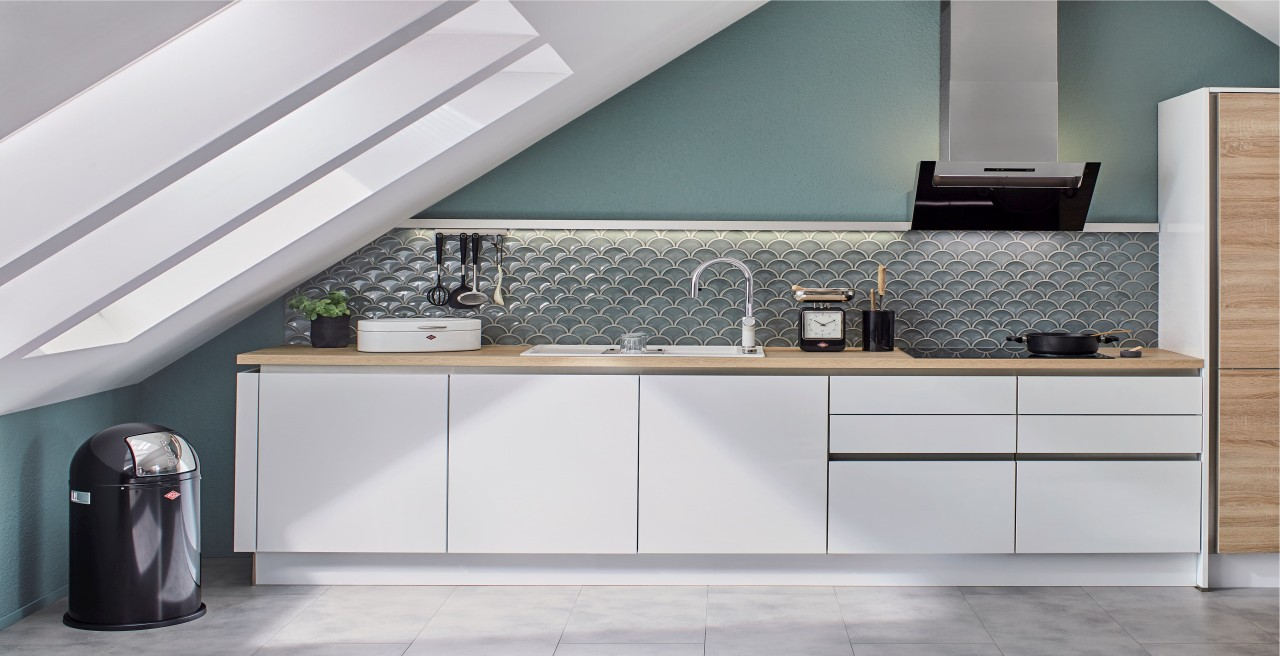 How to figure out the standard countertop depth for my kitchen renovation
