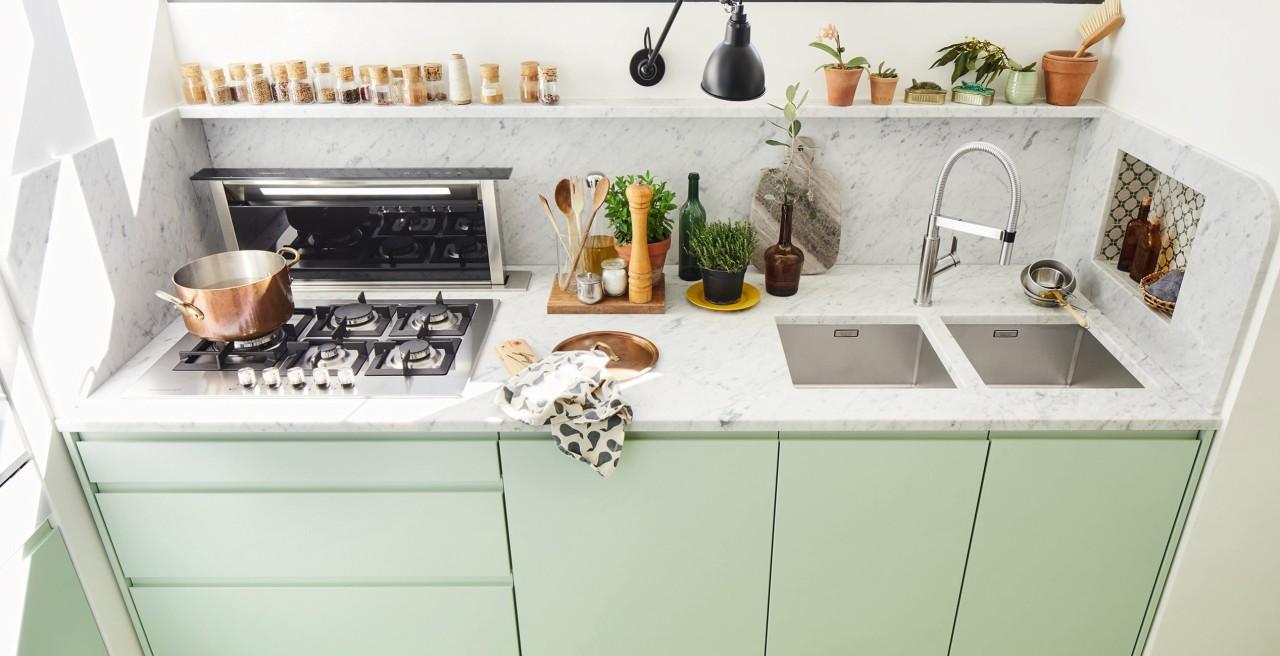 Comment Installer Un Comptoir De Cuisine comment choisir la taille d'un évier de cuisine | blanco