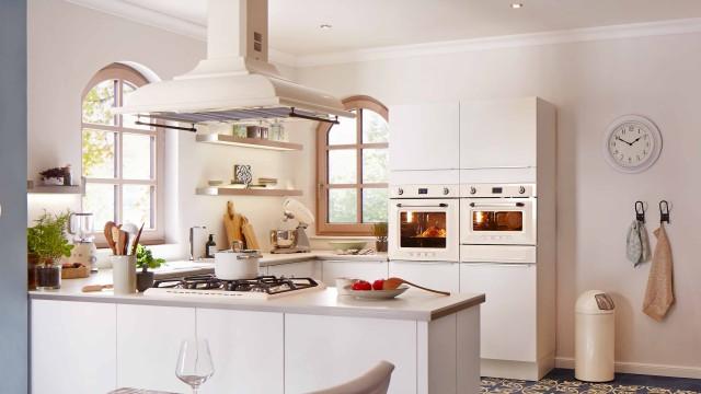 Eine Retro Küche
