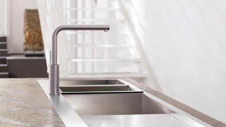Die BLANCO LANORA passt zu Ihrem Zuhause im minimalistischen Design.