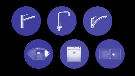 В ассортименте BLANCO есть мойки и чаши для любой кухни и любого интерьера.