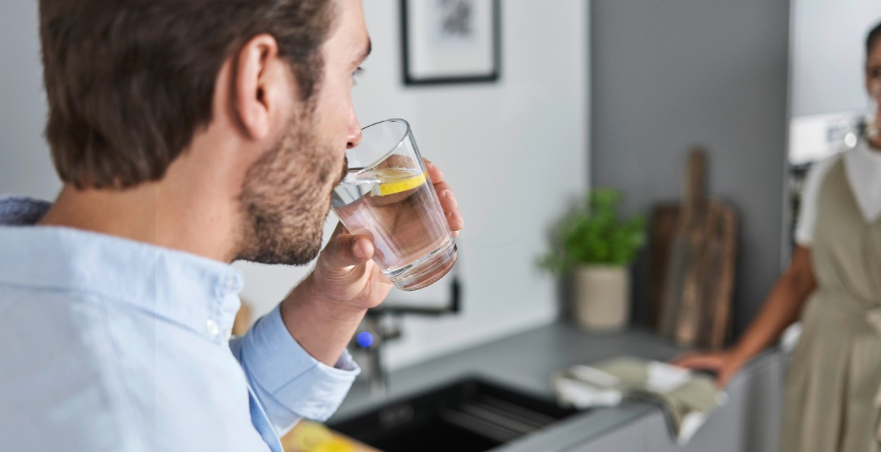 Leckeres Wasser aus der EVOL-S PRO Filter Armatur von BLANCO