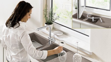 The dirtier the dishes, the later you should wash them up – so do glasses first.