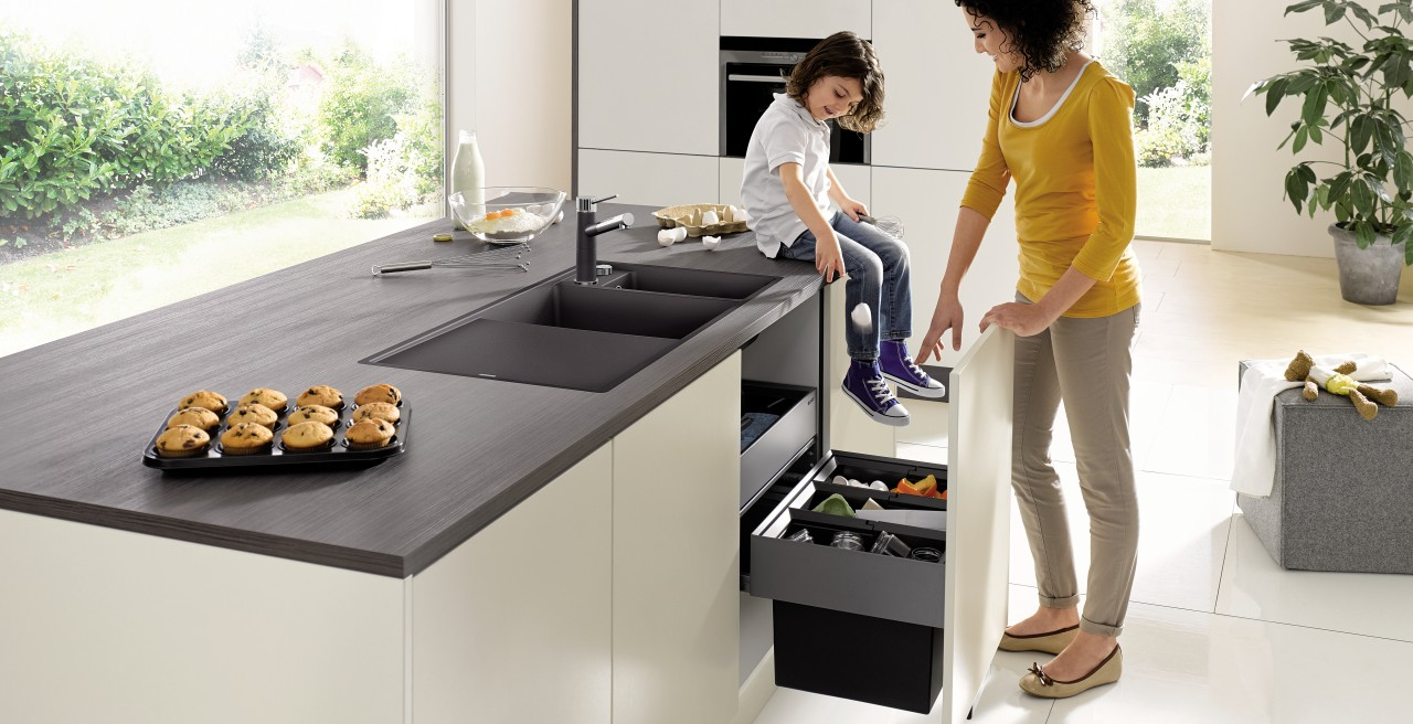 Bring order to your kitchen, starting with the sink cabinet