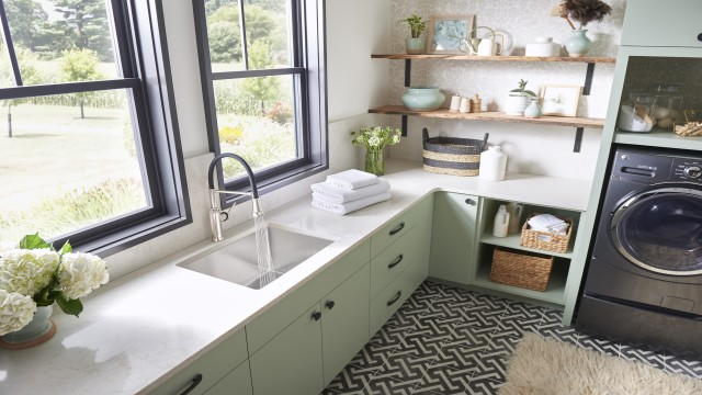 BLANCO QUATRUS Stainless Steel Laundry Sink