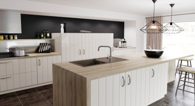 a country house styled kitchen