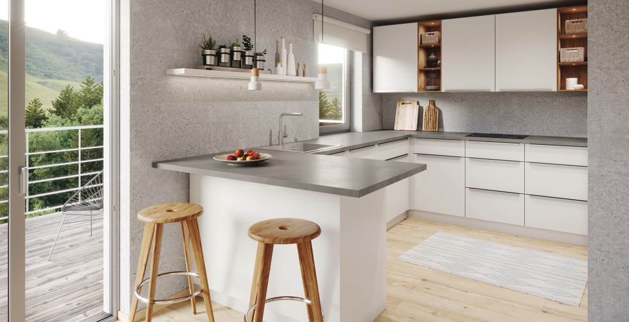 BLANCO concrete look brings style to your kitchen